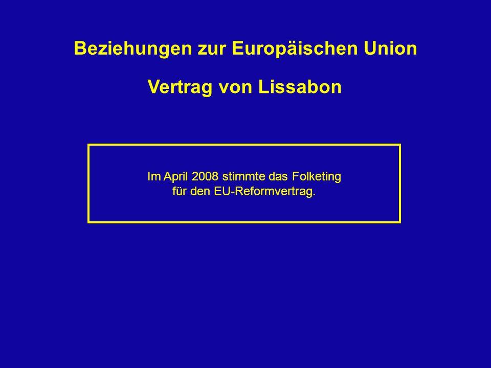 Beziehungen zur Europäischen Union