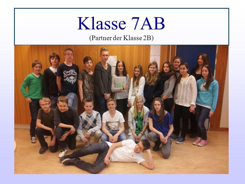 Klasse 7AB (Partner der Klasse 2B)