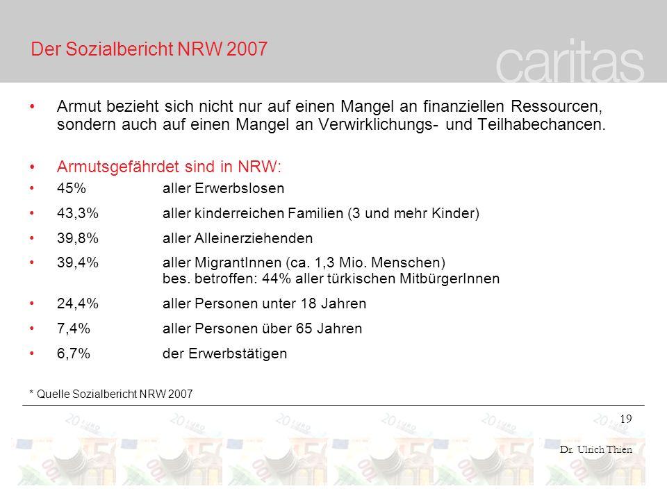 Der Sozialbericht NRW 2007