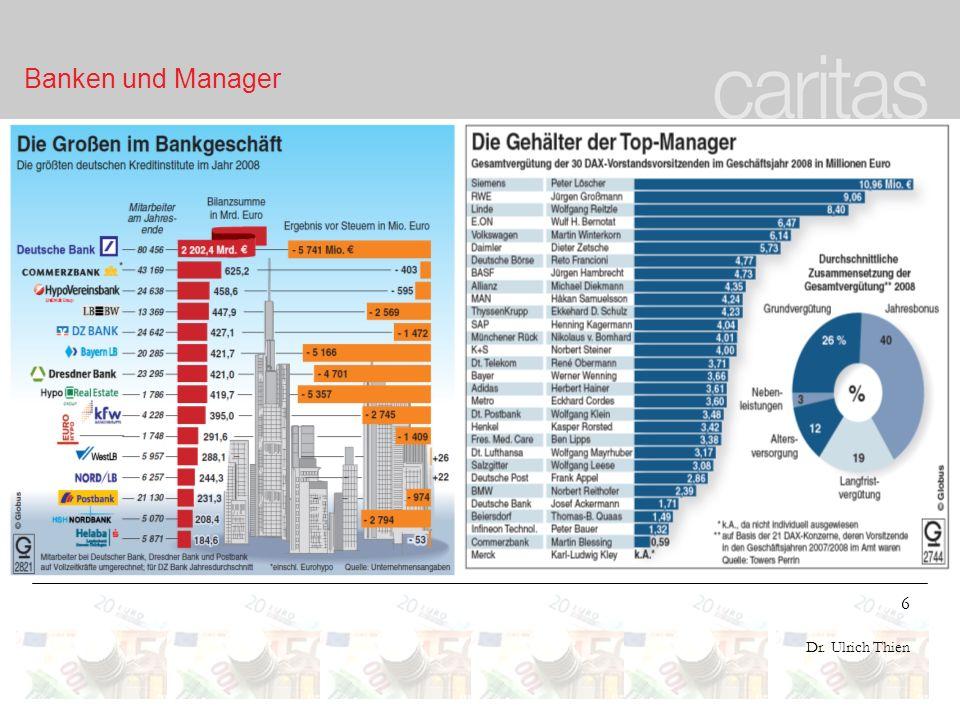 Banken und Manager