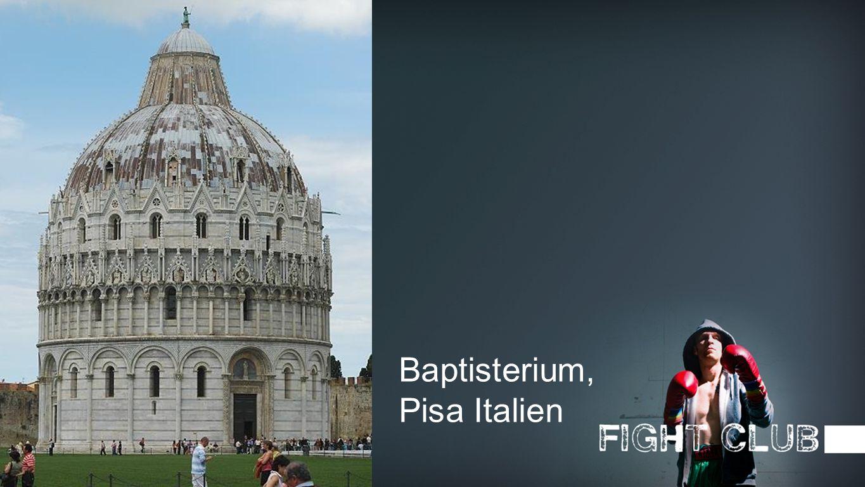 Bild Baptisterium, Pisa Italien