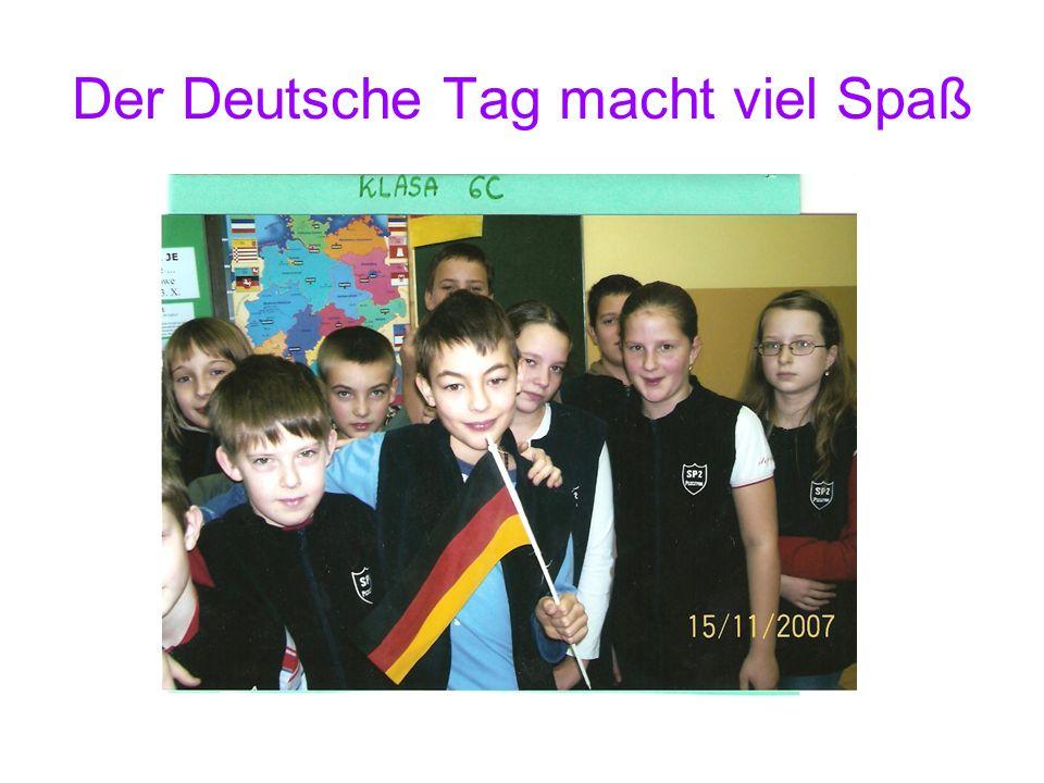Der Deutsche Tag macht viel Spaß