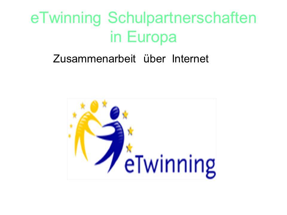 eTwinning Schulpartnerschaften in Europa