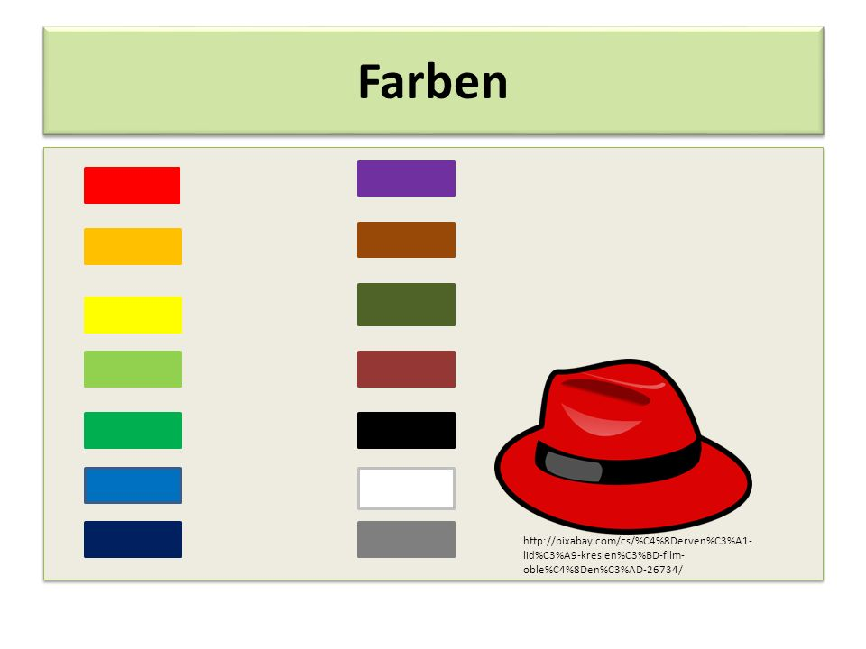 Farben http://pixabay.com/cs/%C4%8Derven%C3%A1-lid%C3%A9-kreslen%C3%BD-film-oble%C4%8Den%C3%AD-26734/