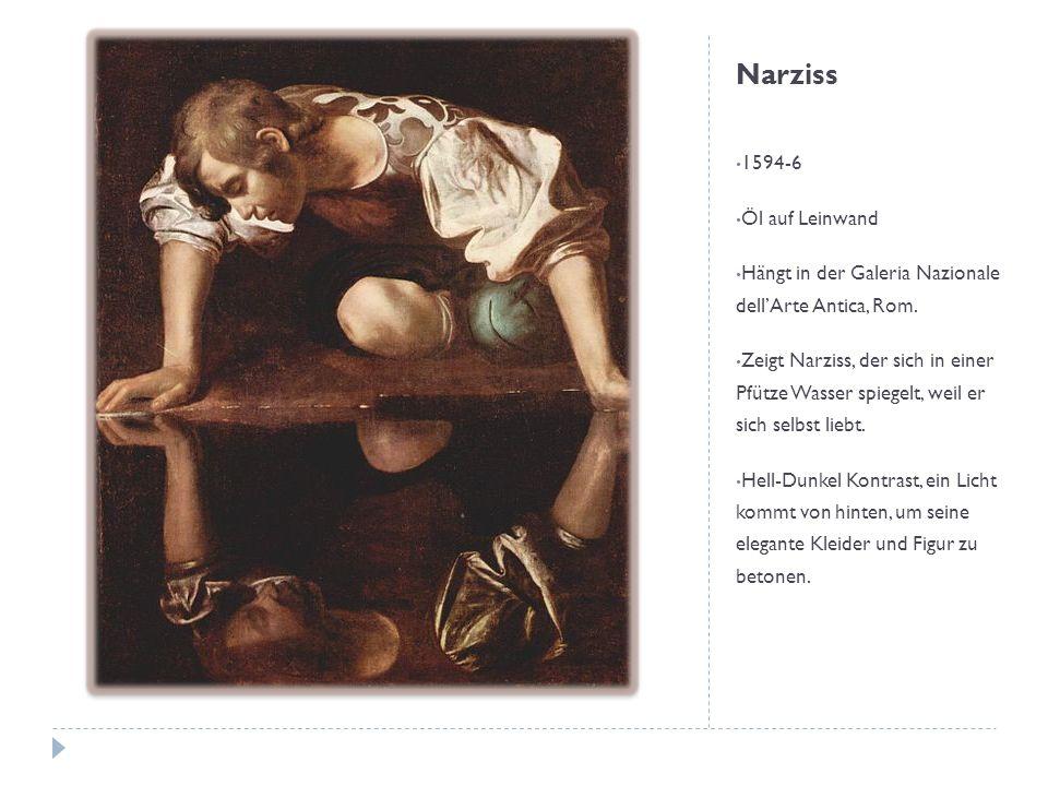 Narziss 1594-6 Öl auf Leinwand