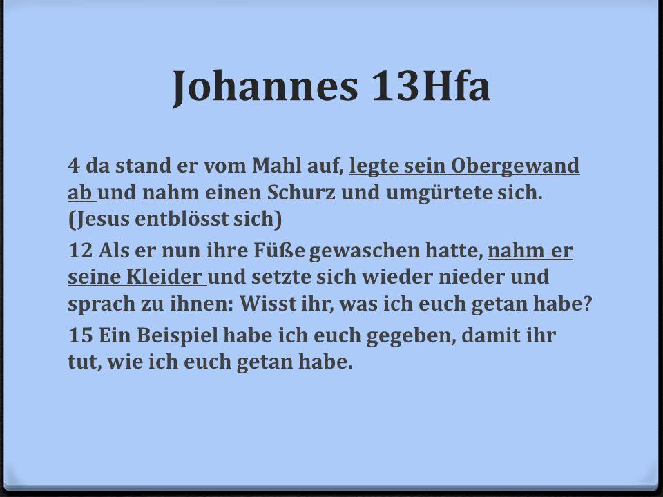 Johannes 13Hfa