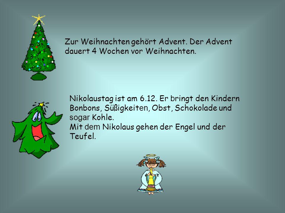 Zur Weihnachten gehört Advent