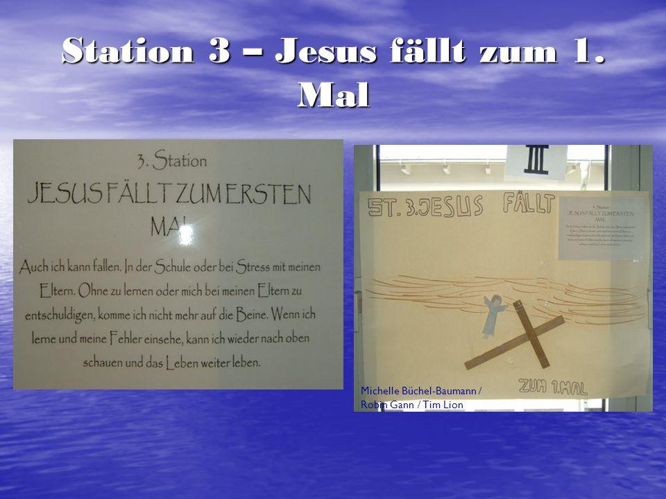 Station 3 – Jesus fällt zum 1. Mal