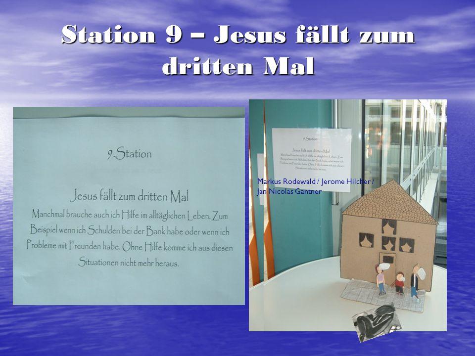 Station 9 – Jesus fällt zum dritten Mal