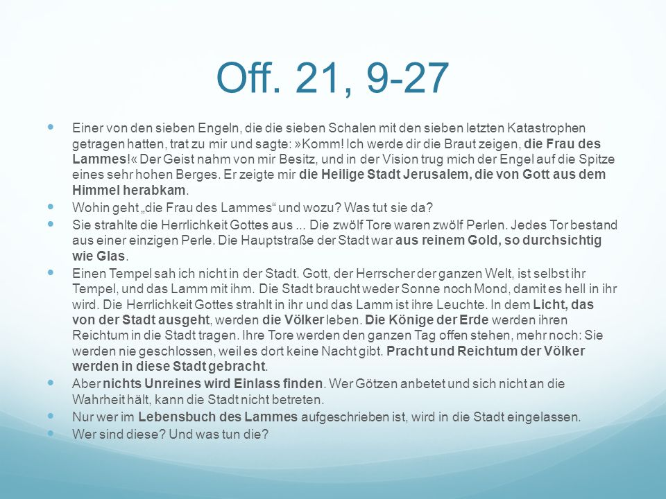 Off. 21, 9-27