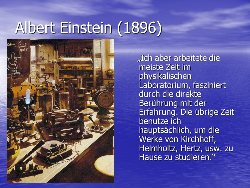 Albert Einstein (1896)