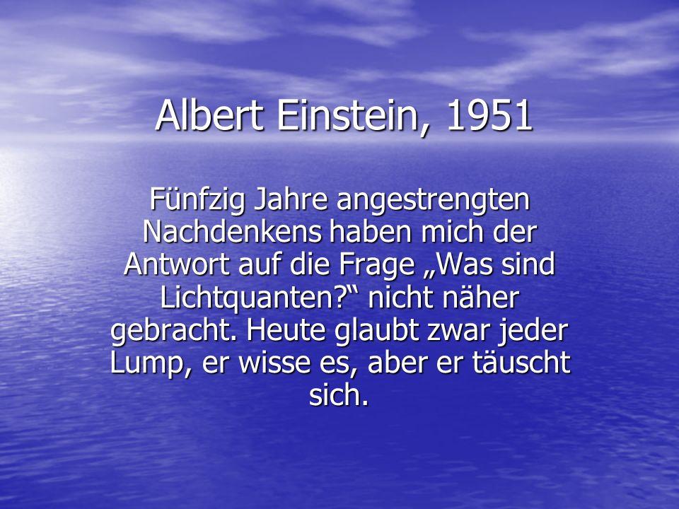 Albert Einstein, 1951
