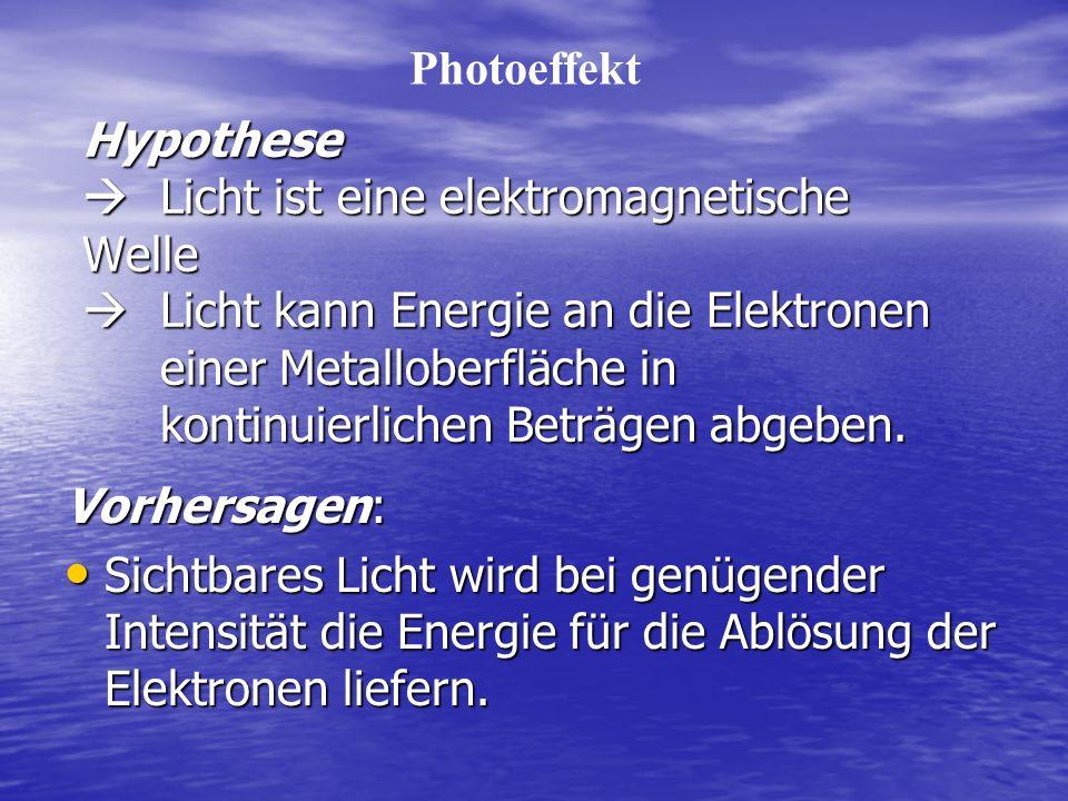 Photoeffekt