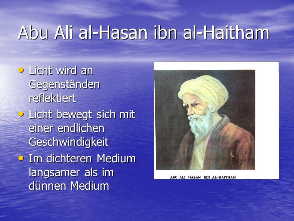 Abu Ali al-Hasan ibn al-Haitham