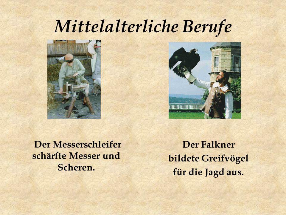 Mittelalterliche Berufe
