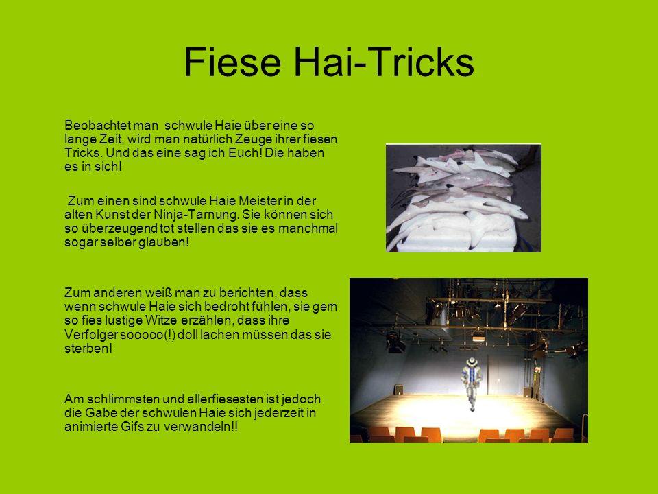 Fiese Hai-Tricks