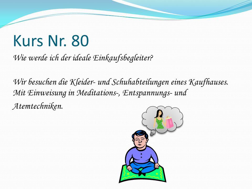 Kurs Nr. 80