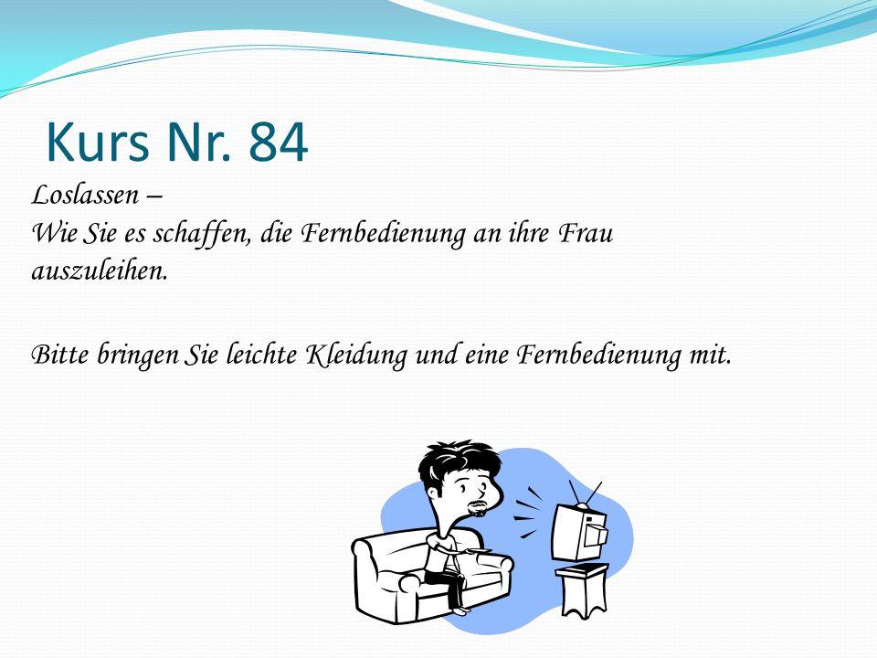 Kurs Nr. 84