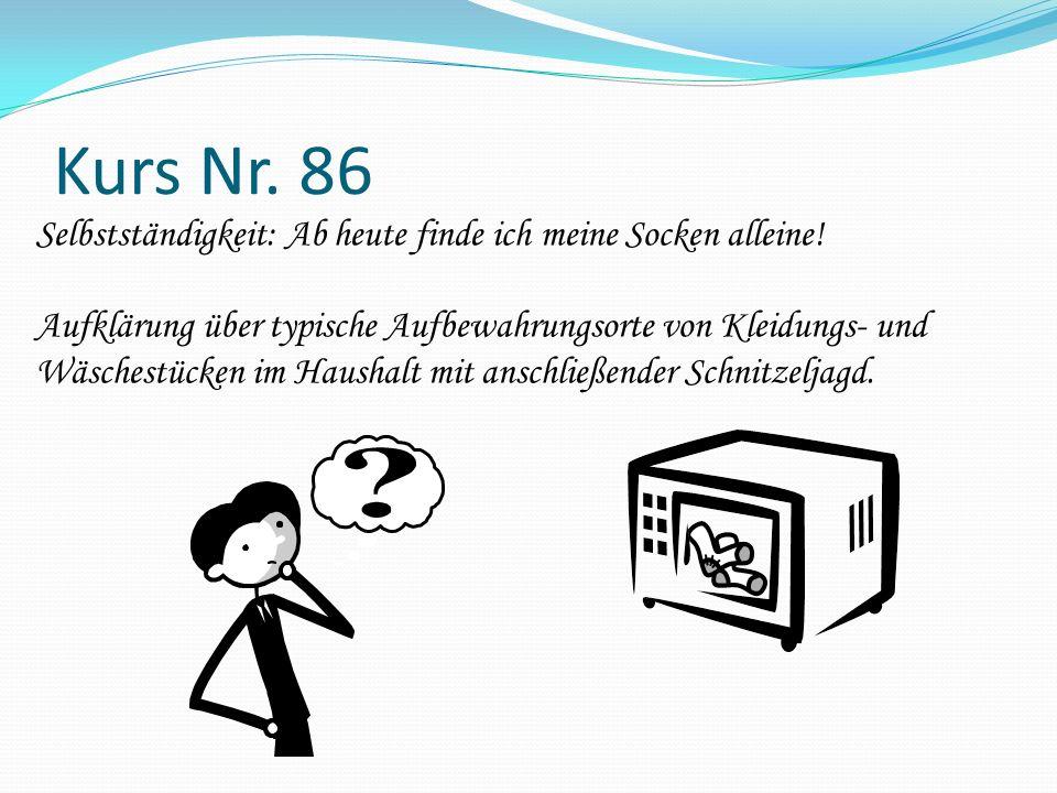 Kurs Nr. 86