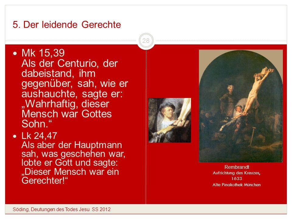 Rembrandt Aufrichtung des Kreuzes, 1633 Alte Pinakothek München
