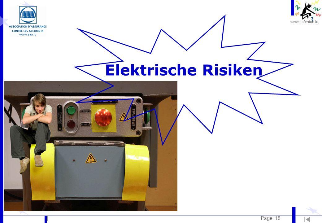 Elektrische Risiken Page: 18