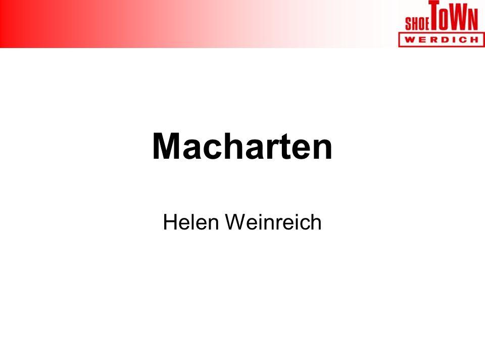 Macharten Helen Weinreich