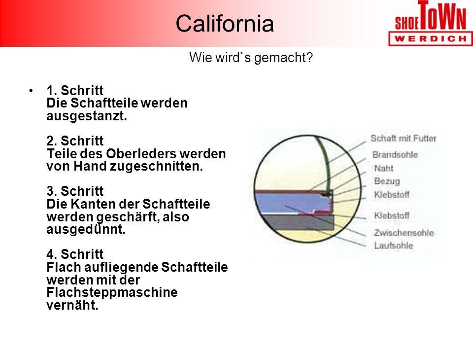 California Wie wird`s gemacht