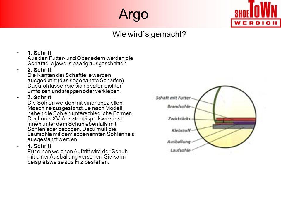 Argo Wie wird`s gemacht