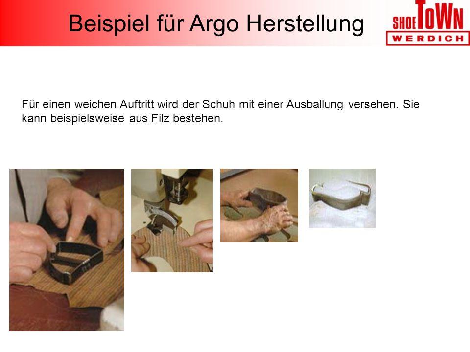 Beispiel für Argo Herstellung