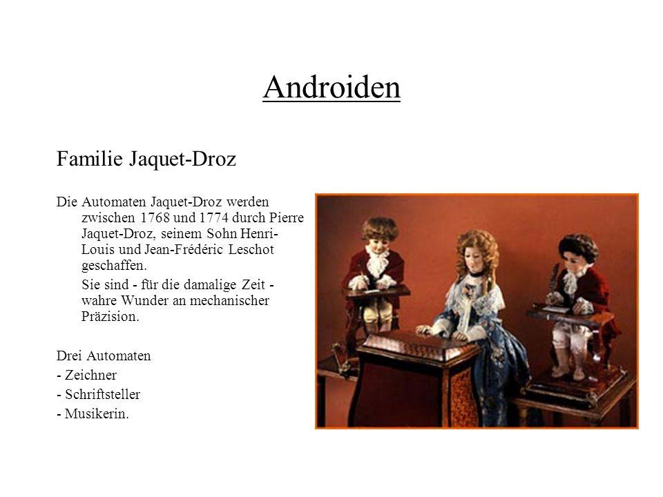 Androiden Familie Jaquet-Droz