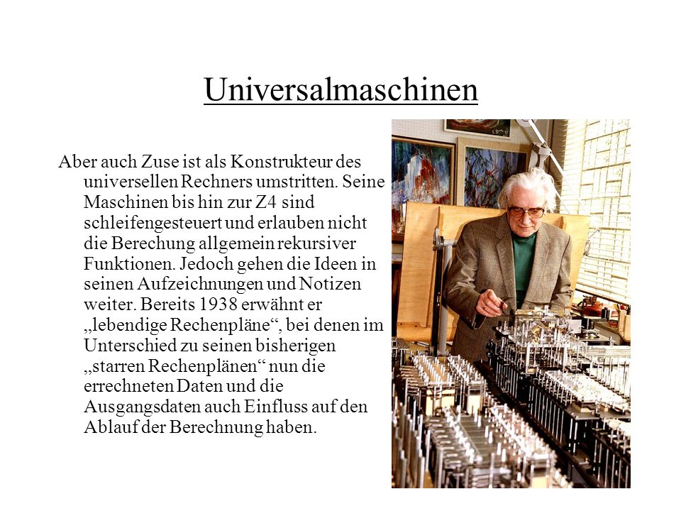 Universalmaschinen
