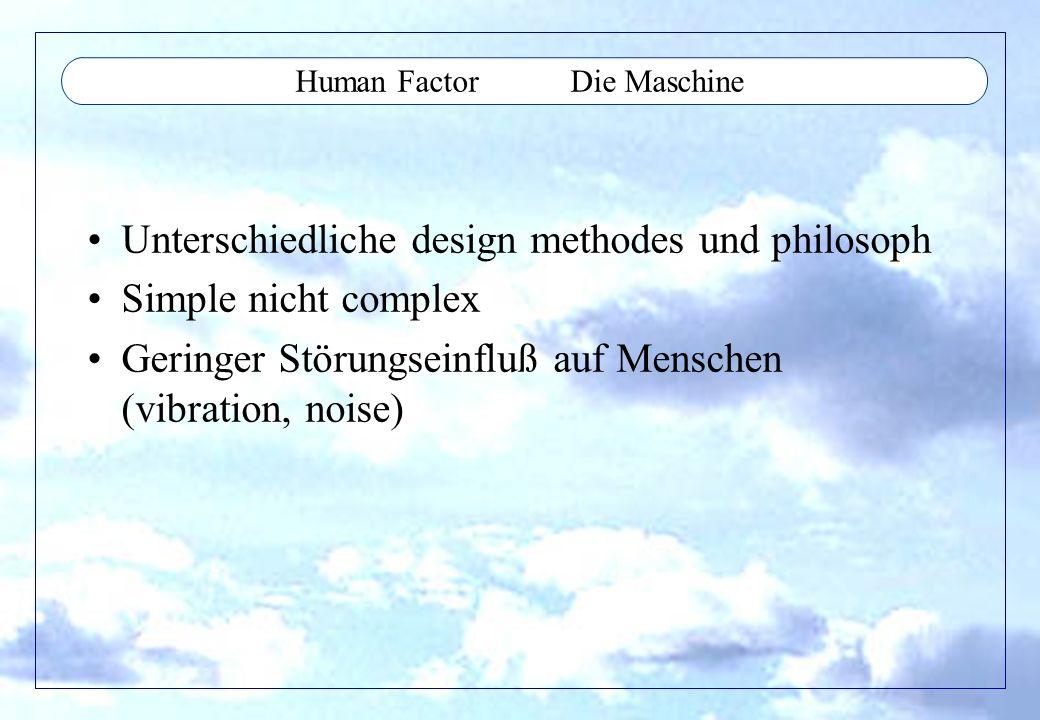 Human Factor Die Maschine