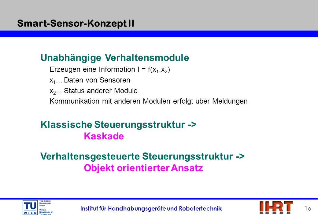 Smart-Sensor-Konzept II