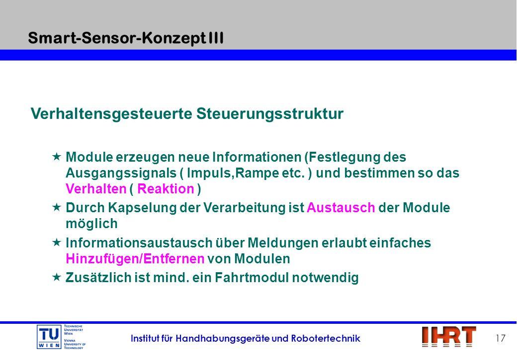 Smart-Sensor-Konzept III