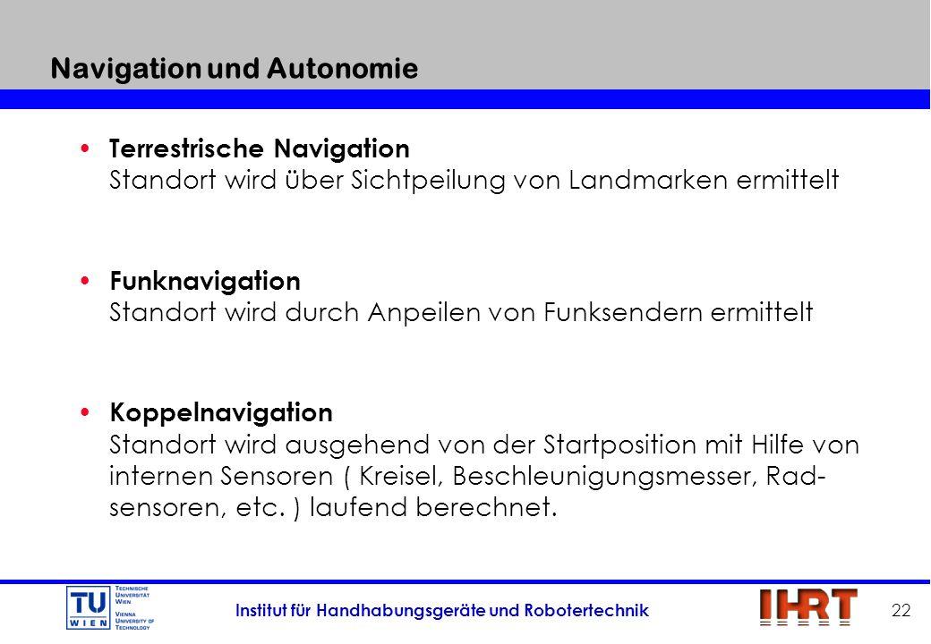 Navigation und Autonomie