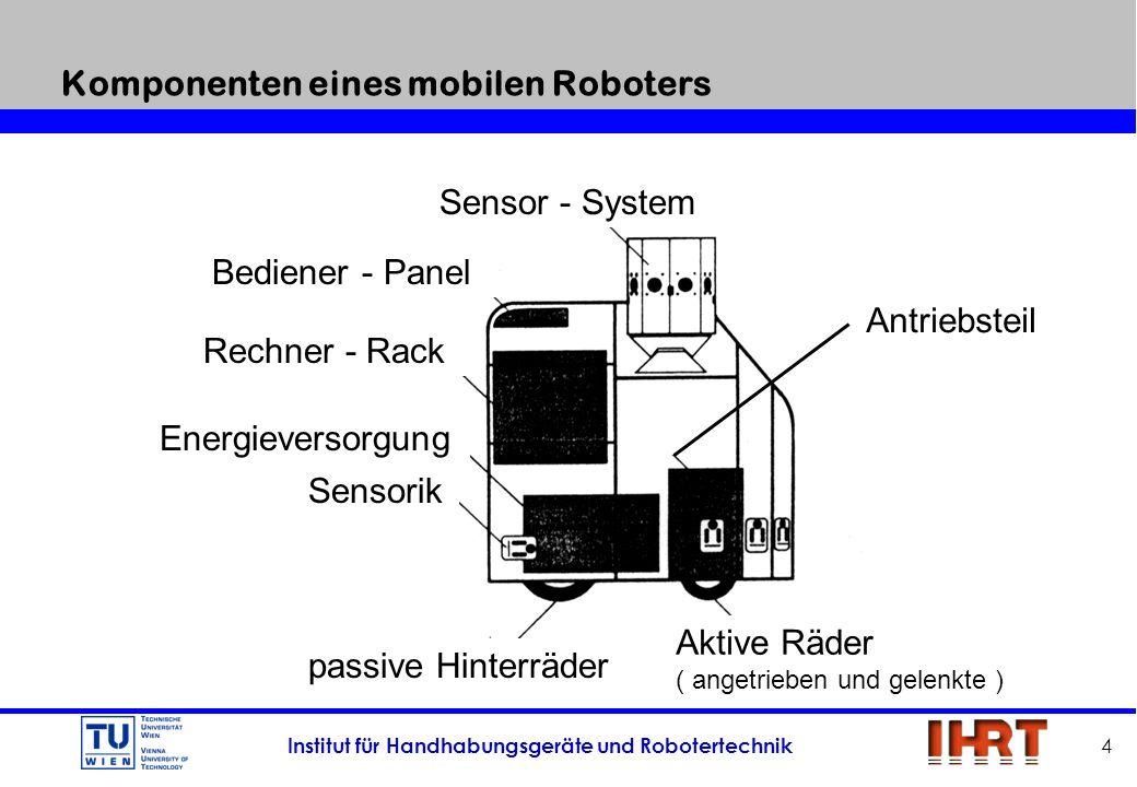 Komponenten eines mobilen Roboters