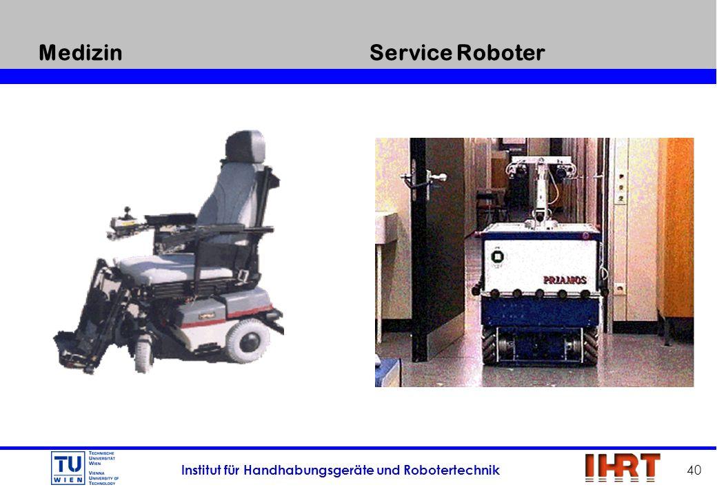 Medizin Service Roboter