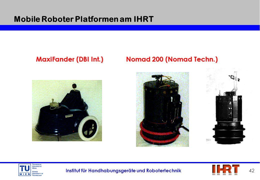 Mobile Roboter Platformen am IHRT