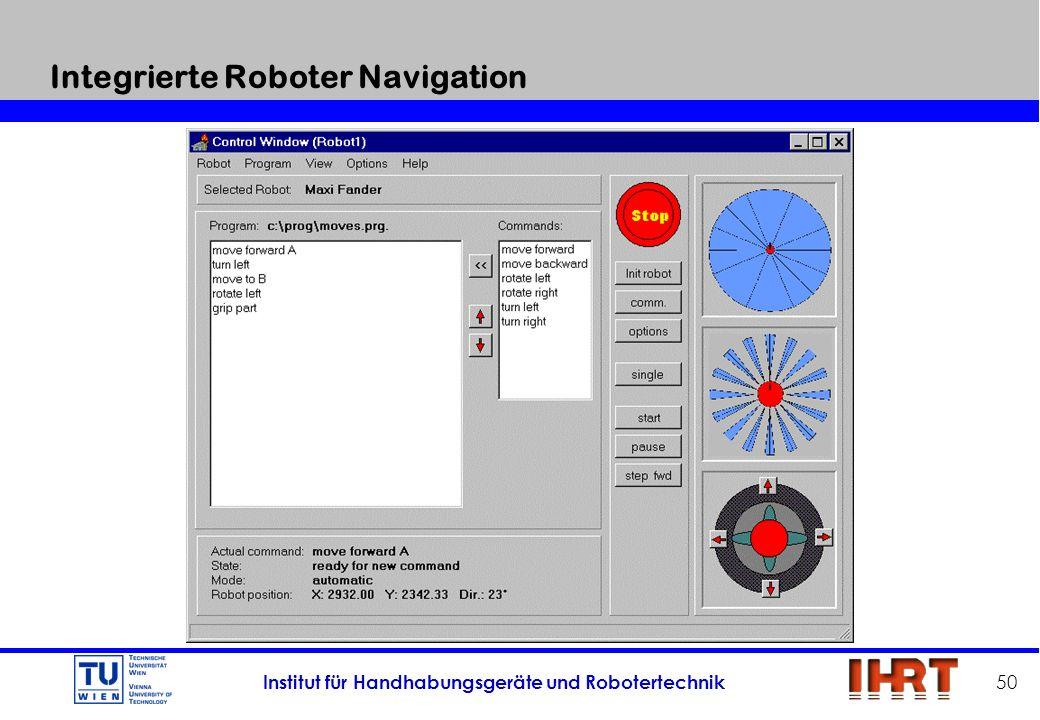 Integrierte Roboter Navigation