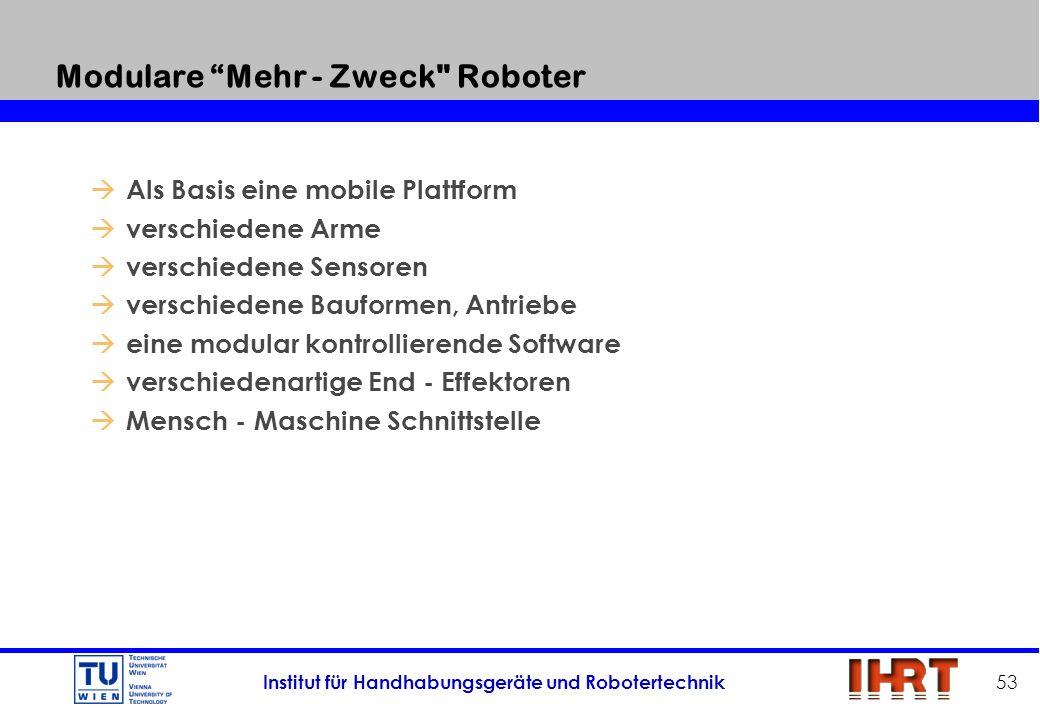Modulare Mehr - Zweck Roboter