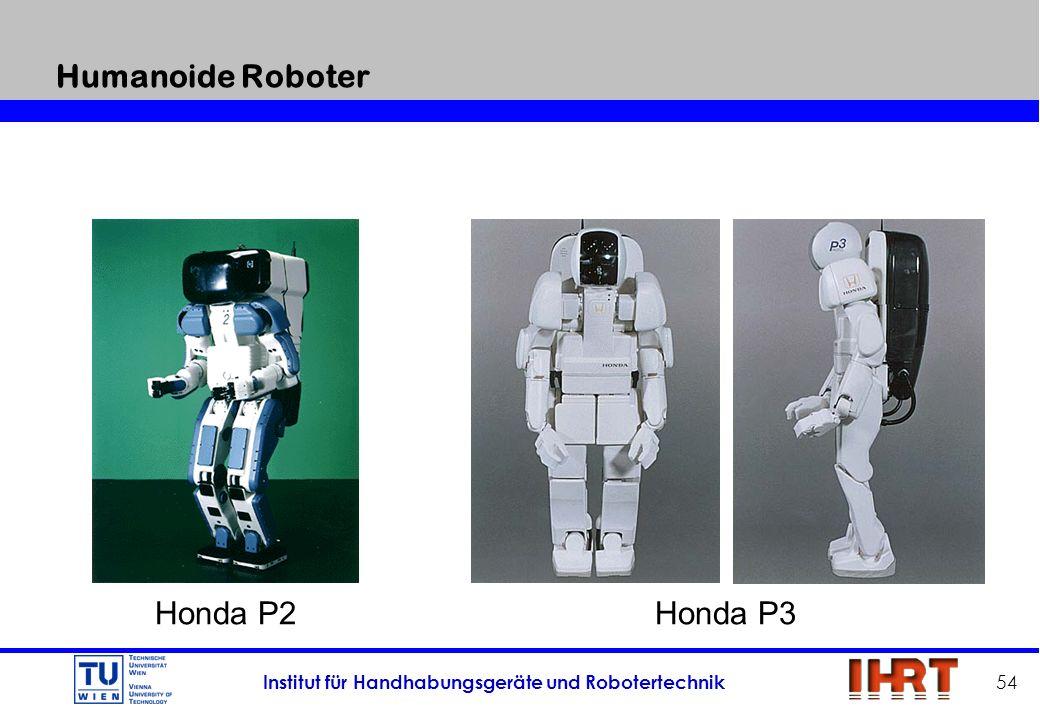 Humanoide Roboter Honda P2 Honda P3
