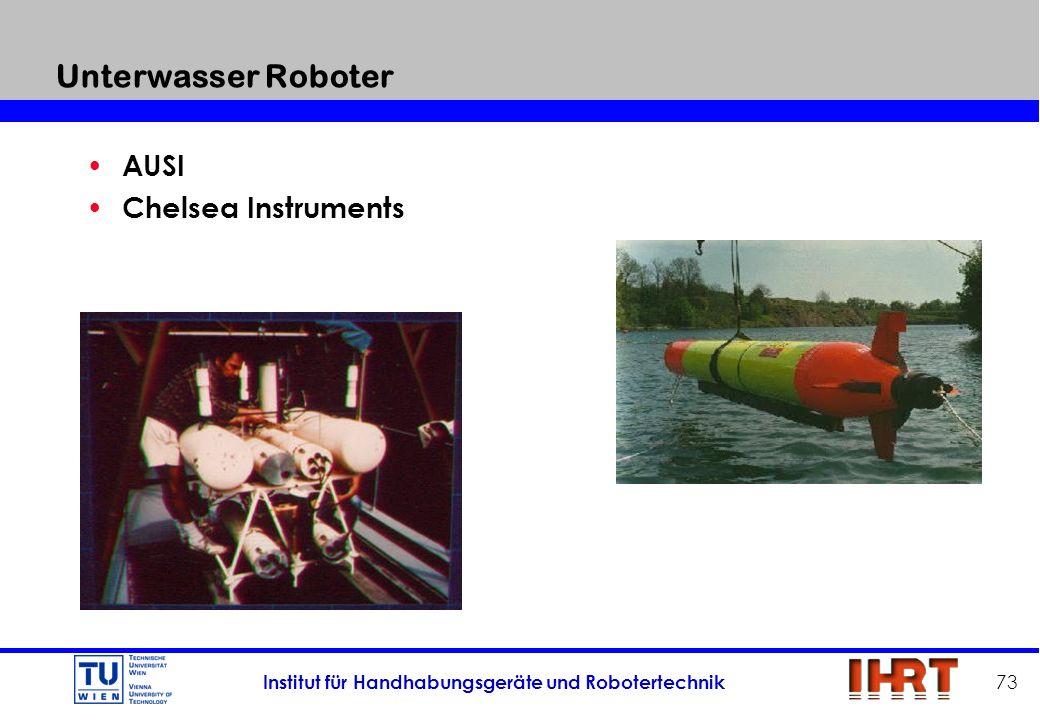 Unterwasser Roboter AUSI Chelsea Instruments