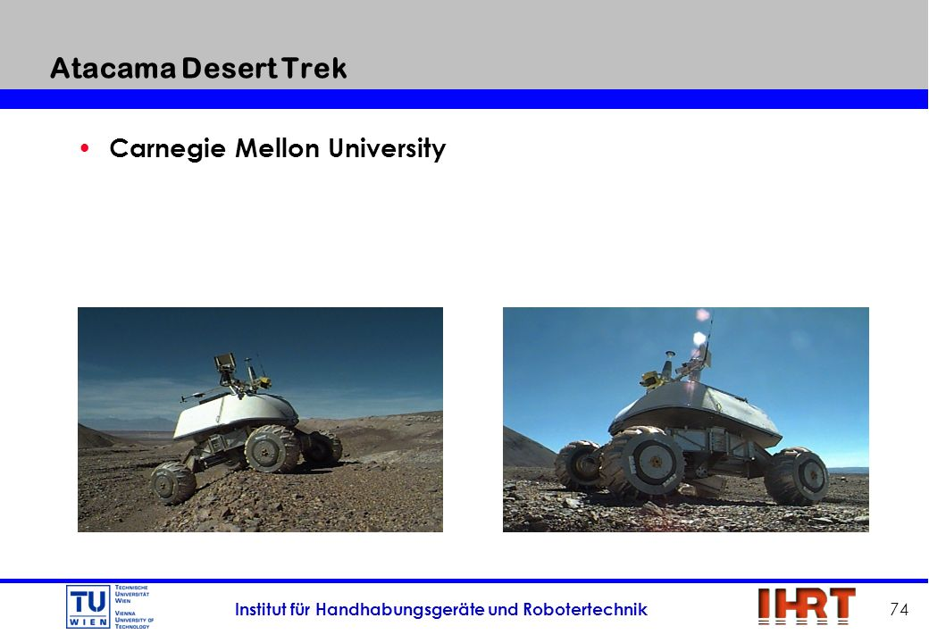 Atacama Desert Trek Carnegie Mellon University