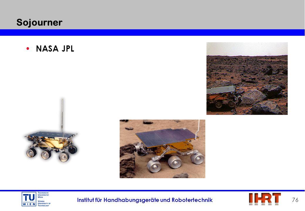 Sojourner NASA JPL