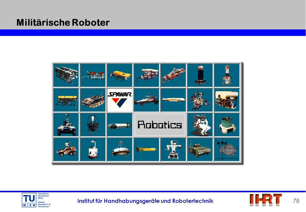 Militärische Roboter