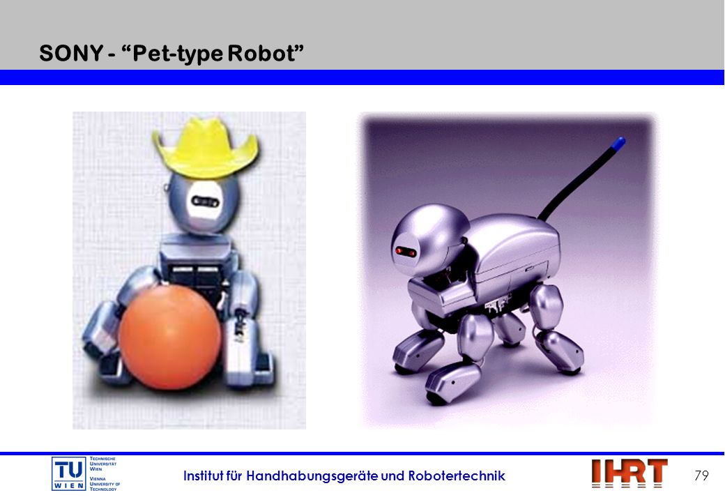 SONY - Pet-type Robot
