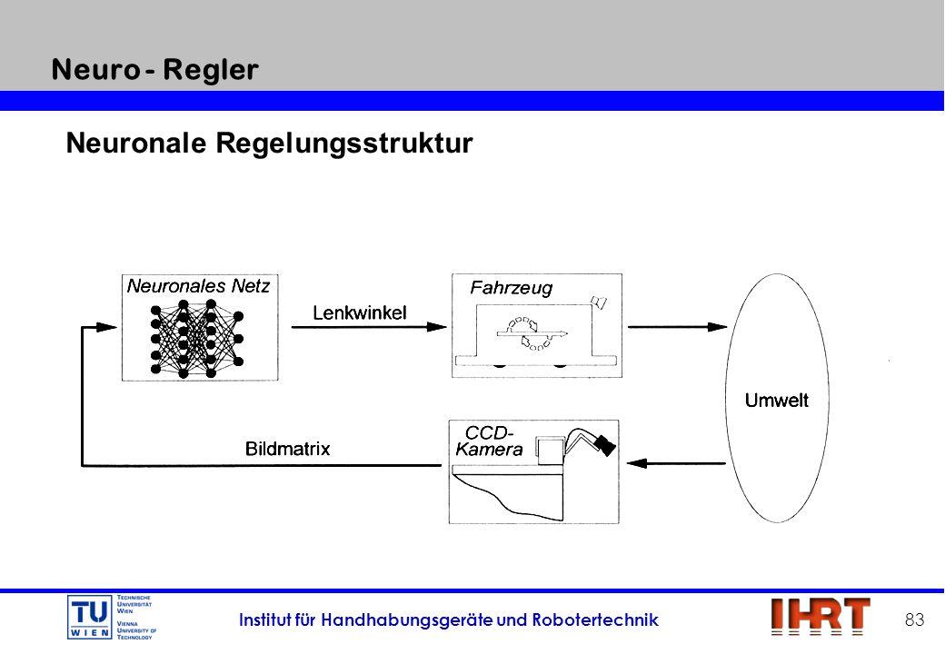 Neuro - Regler Neuronale Regelungsstruktur