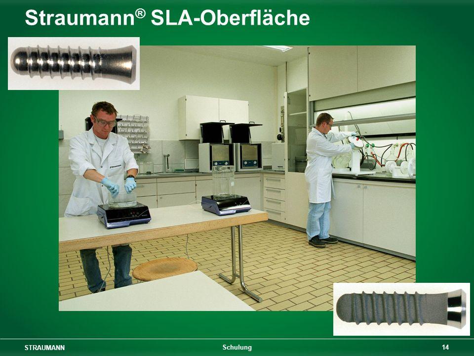 Straumann® SLA-Oberfläche
