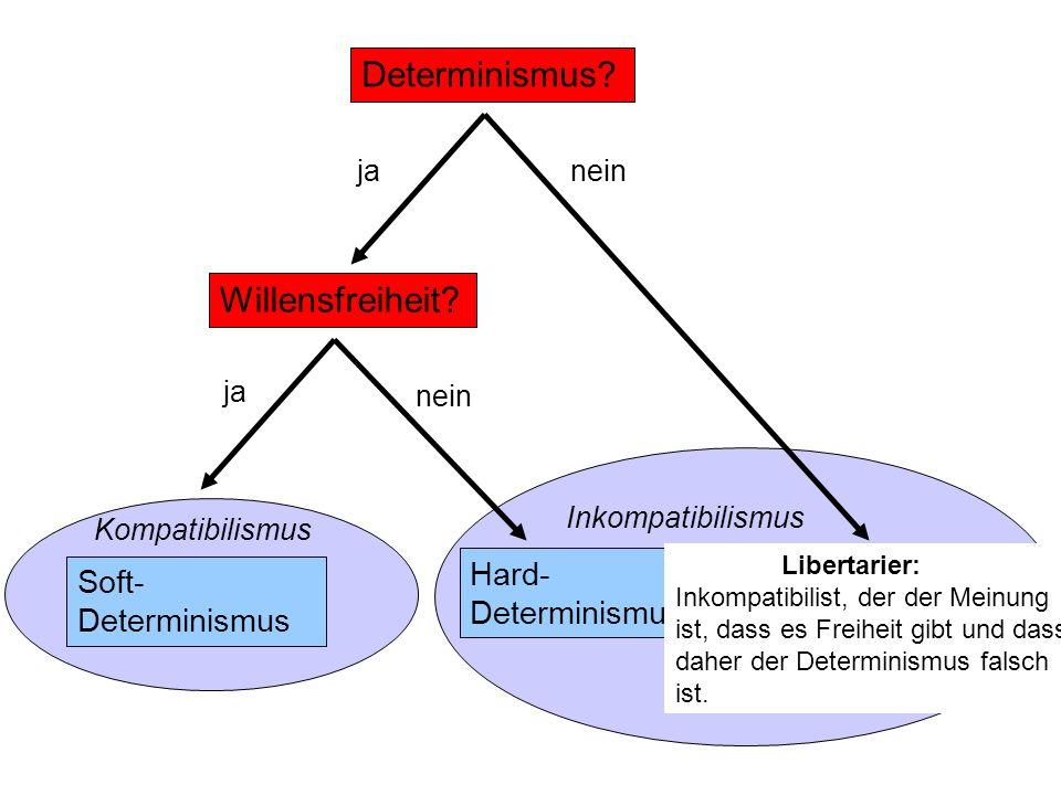 Determinismus Willensfreiheit Hard-Determinismus