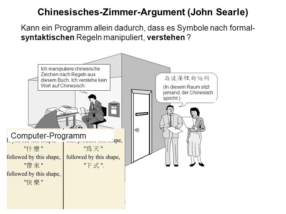 Chinesisches-Zimmer-Argument (John Searle)